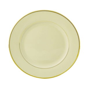 Where to find PLATE 10  IVORY GOLD RIM CHINA in Boston