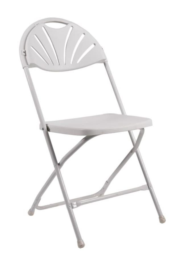 Where to find CHAIR, WHITE FAN BACK in Boston
