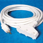 Where to find Extension Cord, Triple Tap White 50 in Boston