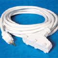 Where to rent Extension Cord, Triple Tap White 50 in Boston MA
