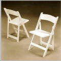 Where to rent CHAIR, WHITE ACRYLIC in Boston MA