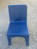 Where to rent Chair, Kids  Square back Blue in Boston MA