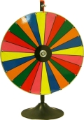 Where to rent Game, Wheel of Chance Color W table Stnd in Boston MA