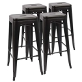 Where to rent CHAIR, BAR STOOL BLACK in Boston MA