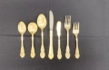 Where to rent FLATWARE GOLD in Boston MA