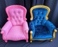 Where to rent THRONE CHAIR KIDS PINK OR BLUE in Boston MA